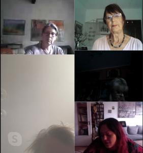 Kreis 34 Online Skype Treffen